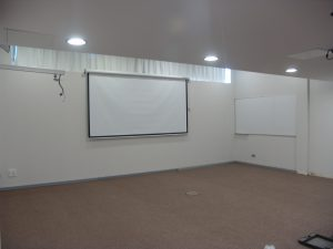 New meeting room on 1st floor has been refurbished and will be inaugurated for our information meeting 15 of November