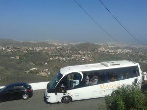 At Bandamas overlooking Las Palmas